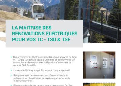 PLAQUETTE PUB POUR ARMOIRE TC-TSD & TSF AVEC APIDS
