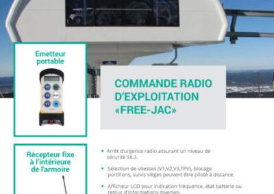 PLAQUETTE PUB POUR TELECOMMANDE RADIO EXPLOITATION